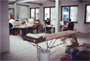 Unser erstes richtiges Büro in der Friedrichstrasse